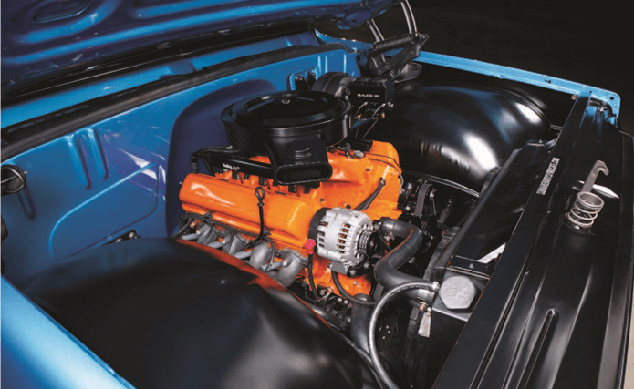 RETRO POWER: Delmo's builds and old school, stylized LS Engine