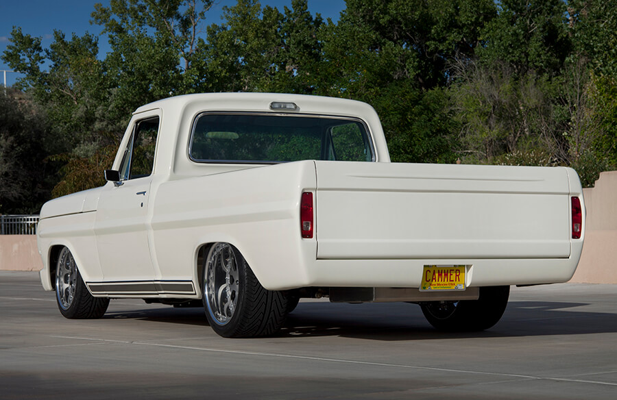 Custom Ford F-100 Rear Side