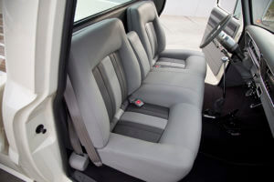 Custom Ford F-100 with custom seat covers