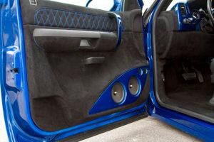 Custom 2007 Chevy Silverado 1500 interior door panel