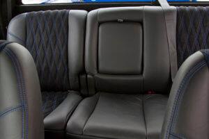 Custom 2007 Chevy Silverado 1500 leather seats
