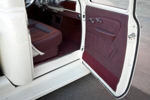 Interior truck door panel