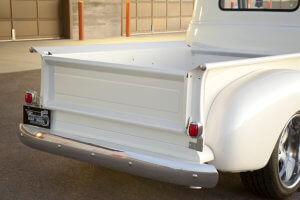 Rear view of the 1949 Chevrolet 3100