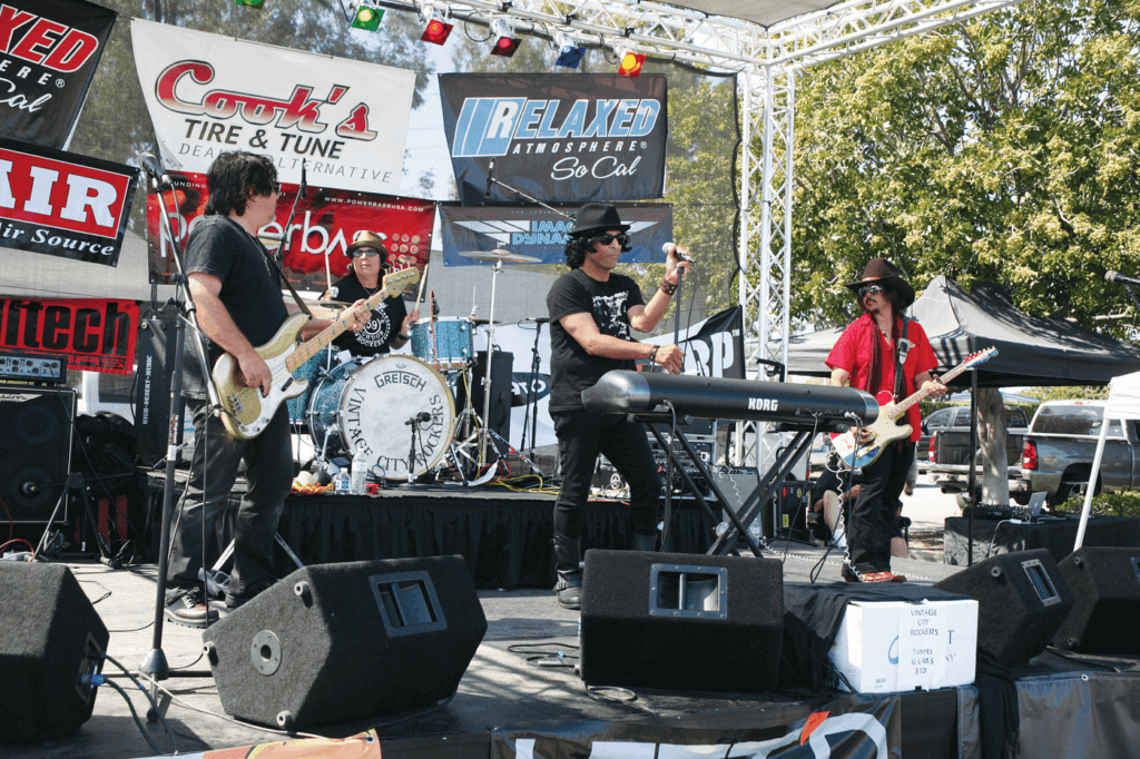 The Vintage City Rockers, which features Dramarama's drummer as the front man, played throughout the day.