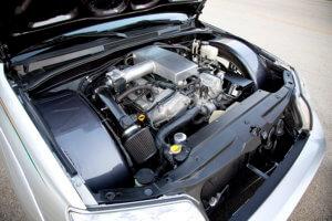 Custom Toyota 4Runner Engine bay