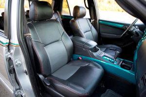 Interior of Tony Rispoli's custom Toyota 4Runner