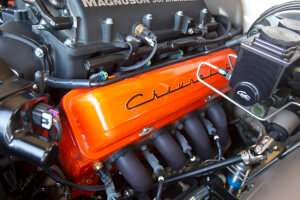 Engine customized by Mullenix Racing Engines/Delmo's Speed & Kustom