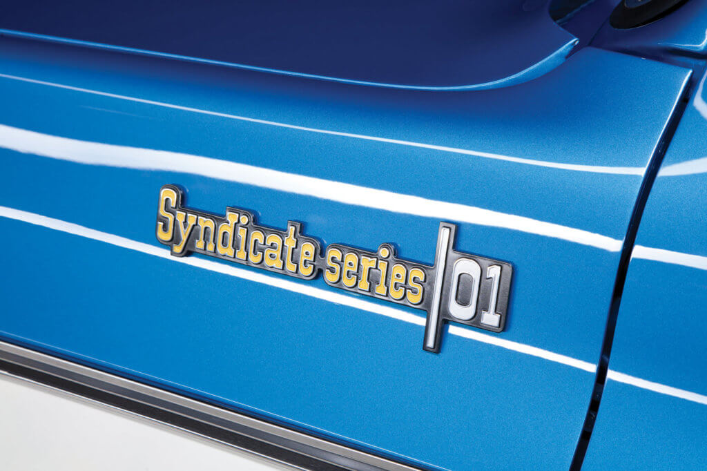 Syndicate Series 01 is just the first big build for Joe and Squarebody Syndicate; he already has plans for two more.