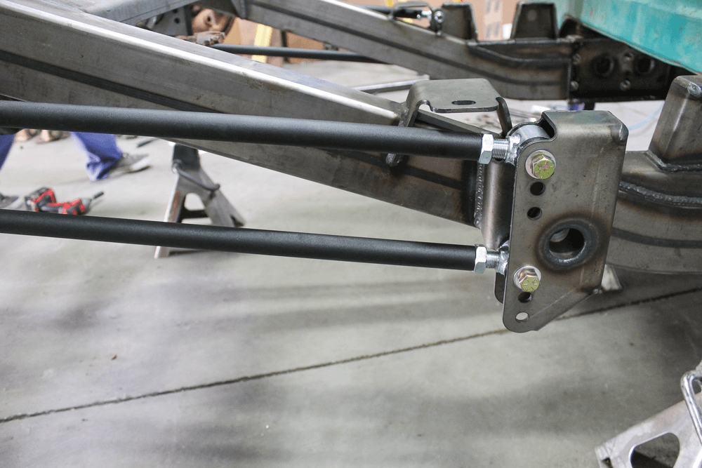 Installing a Chris Alston's Chassisworks rear section   1967