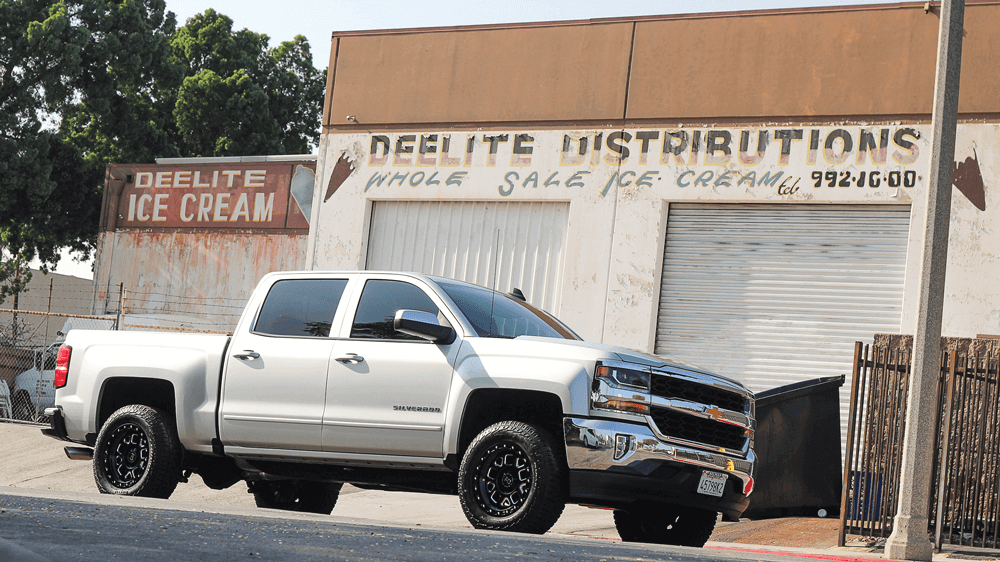 18 Chevy Silverado 3-inch Front Leveling Kit Installed | Street Trucks