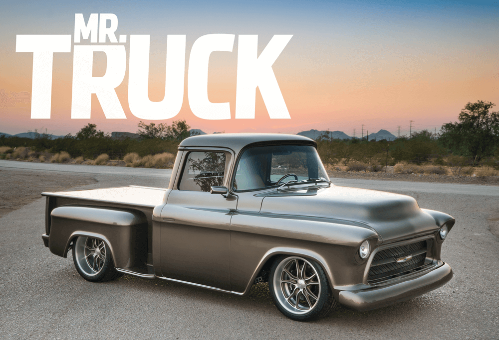 1955 Chevy Truck >> 1955 Chevy Pickup Known As Mr Truck Street Trucks
