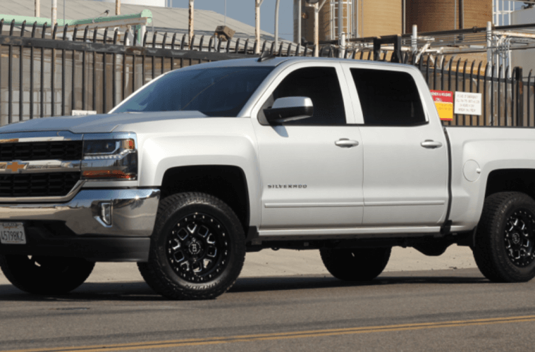 '18 Chevy Silverado 3-inch Front Leveling Kit Installed ...