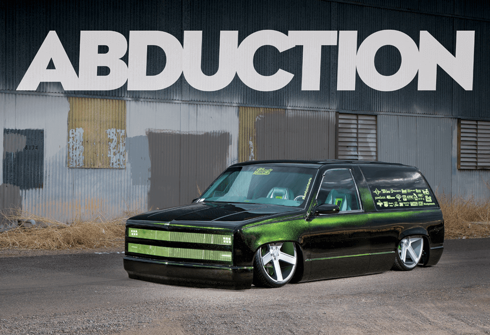 The 90s Chevy Tahoe Two Door Known As Abduction Street Trucks