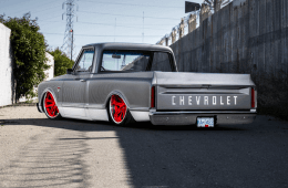 1968 Chevy C10 on Califronia road