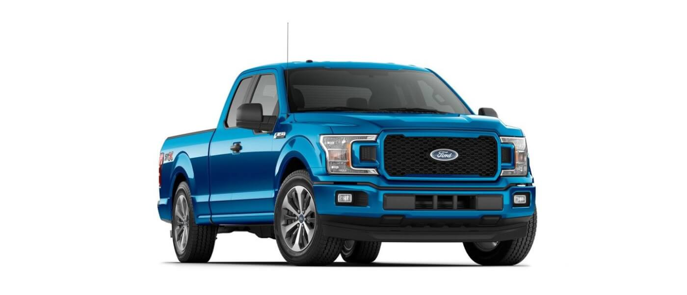 The 2019 F-150 comes in V6 and V8 gas and diesel engine options, with a hybrid model set to debut next year.