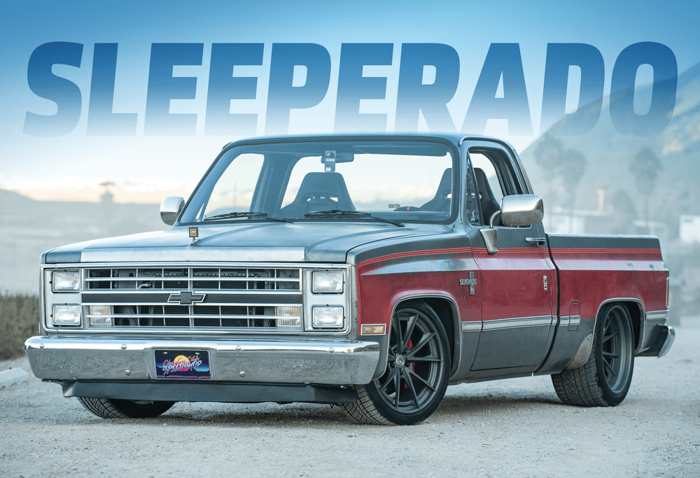 SLEEPERADO | 640-horsepower 1986 Chevy Silverado Squarebody