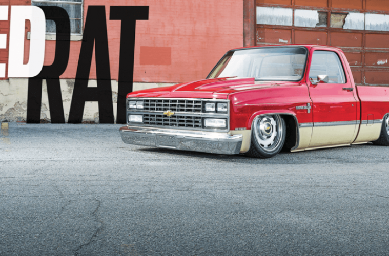Red Rat 1982 Chevrolet C 10 Squarebody Street Trucks