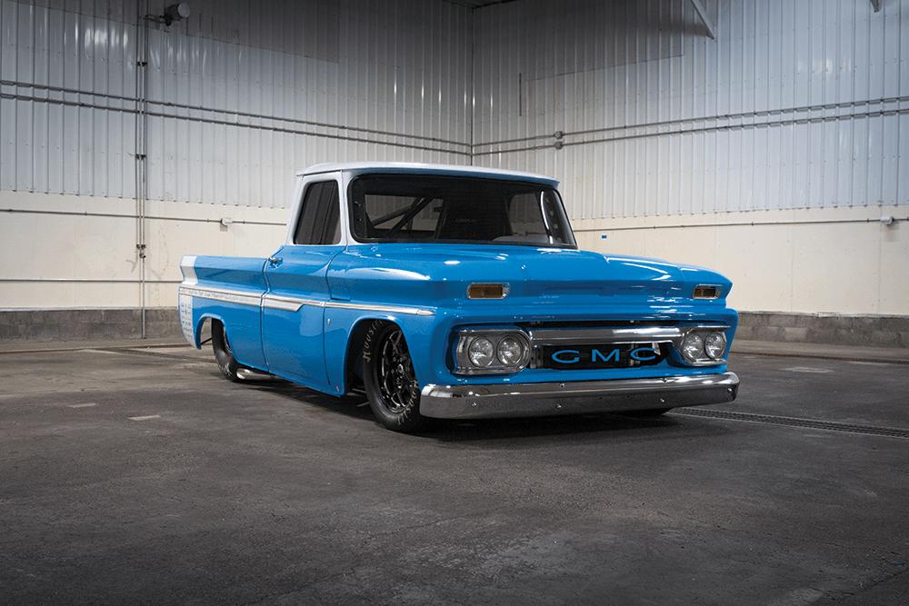 DIAMOND DUO | A Pro Street '60s-era GMC and its hauler