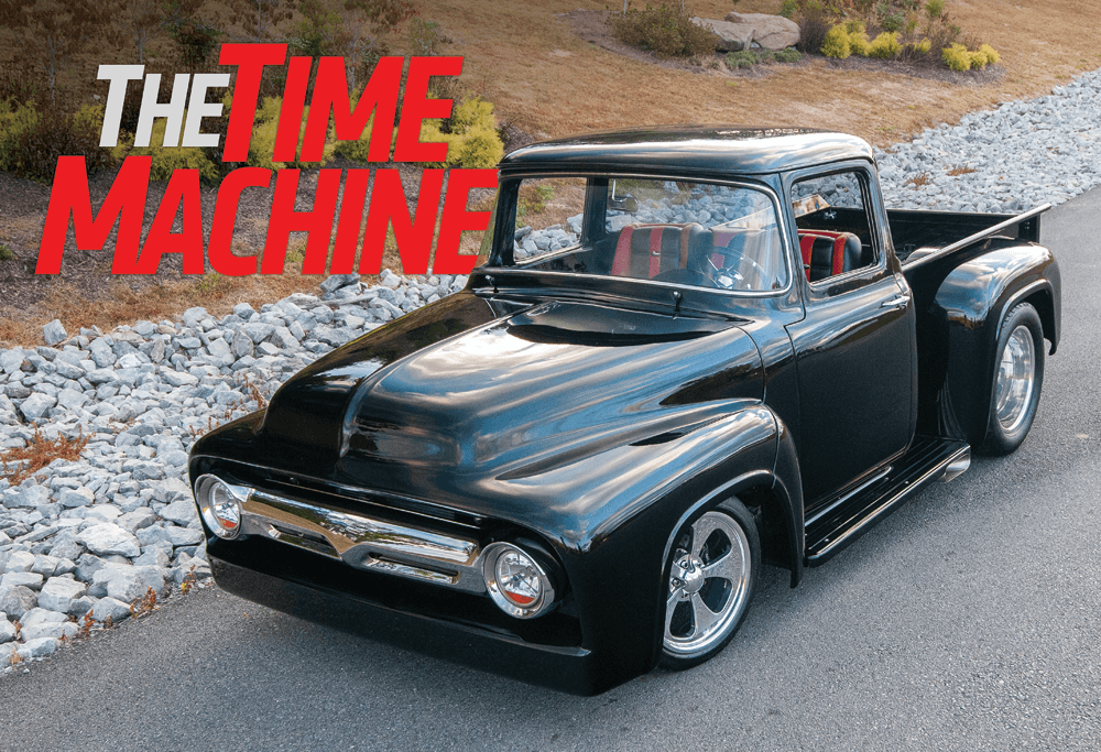 THE TIME MACHINE | A Stunning '56 Ford F-100 | Street Trucks