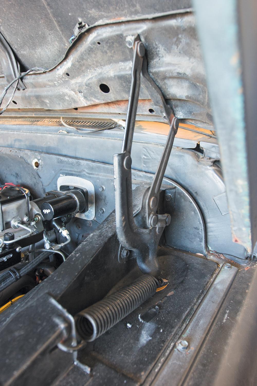 Installing Eddie Mortorsports Hood Hinges on our 1965 ...