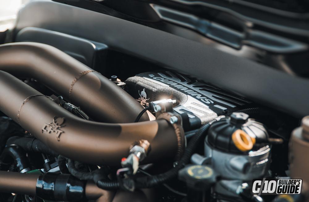 5.0L Cummins turbo diesel engine