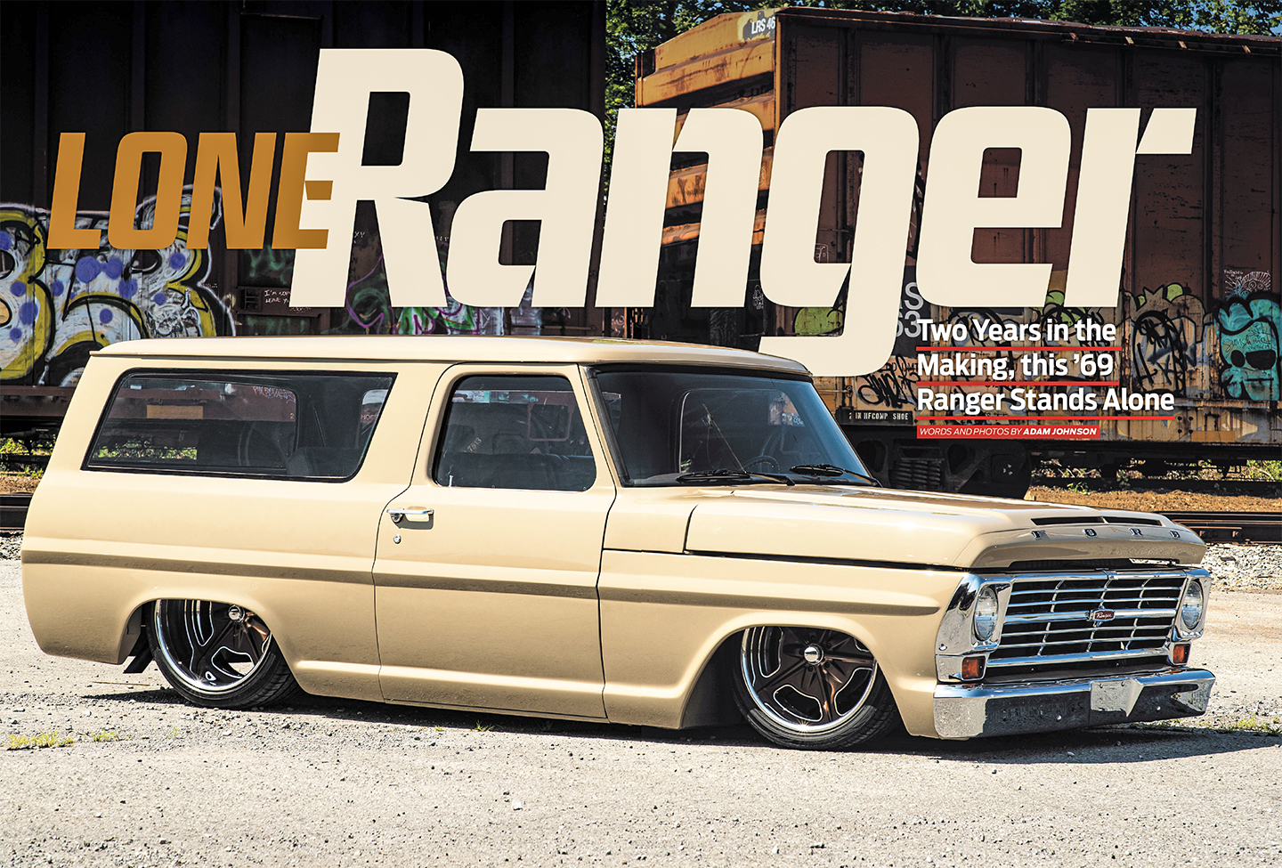 Lone Ranger Combining A 69 Ford Ranger With A 72 Ford Van For The Win Street Trucks