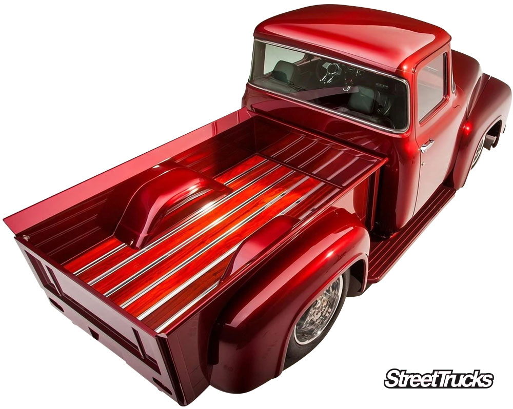Bed Strips from BedWood for your custom truck