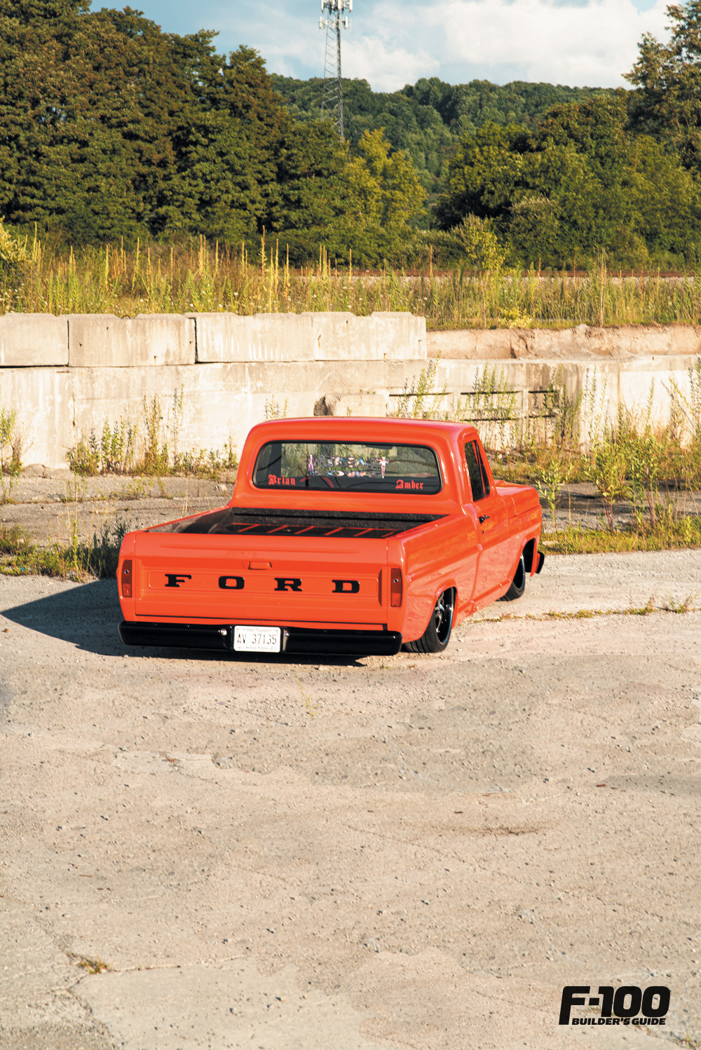 Red '68 Ford F-100
