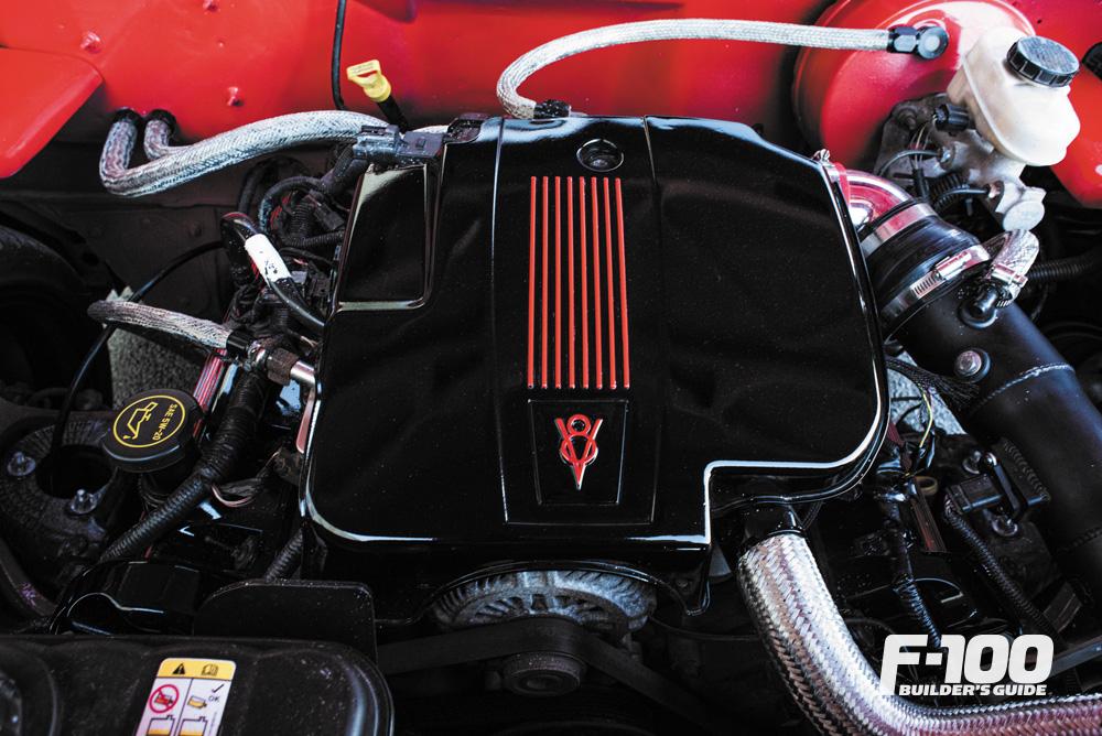 4.6-liter V-8 engine