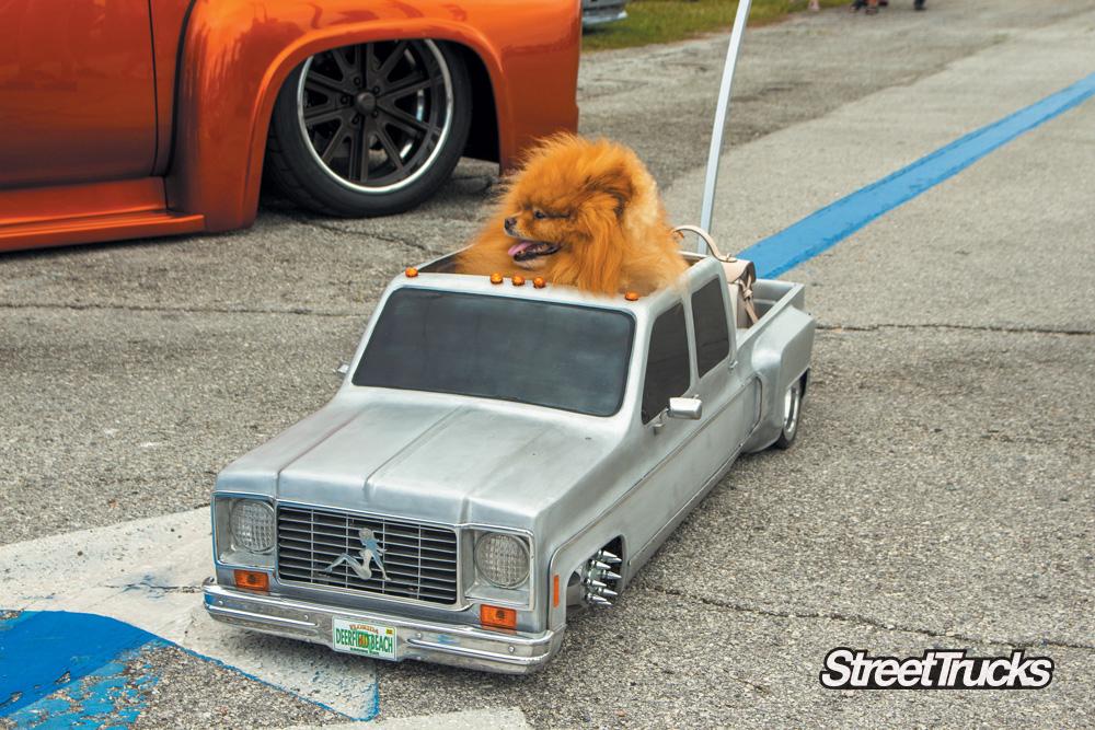 Slamfest car show