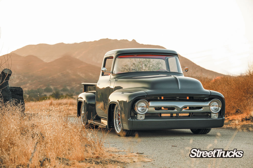 1956 F100 with a coyote engine swap