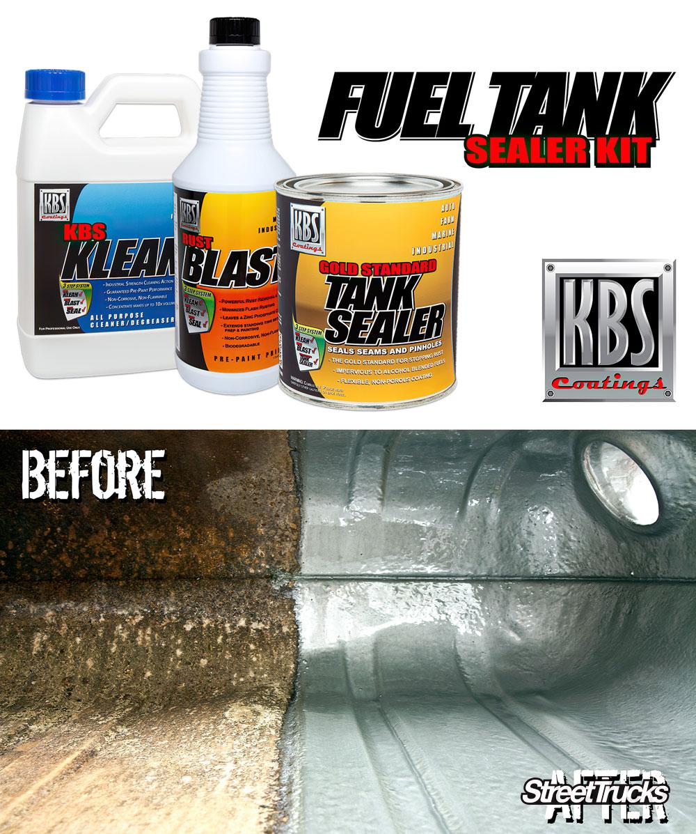 Fuel Tank Sealer Kit from KBS Coatings