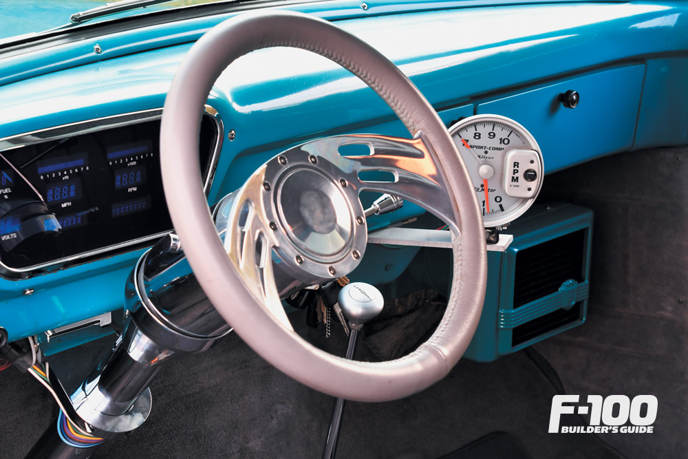 Ford F-100 in a digital dakota