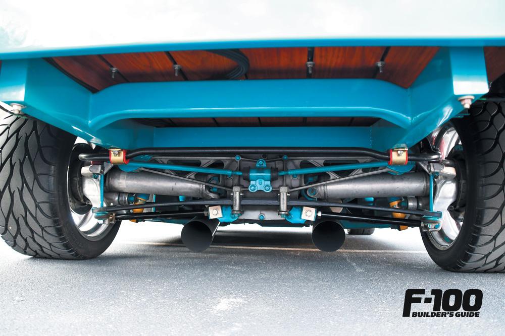 '55 Ford F-100 suspension