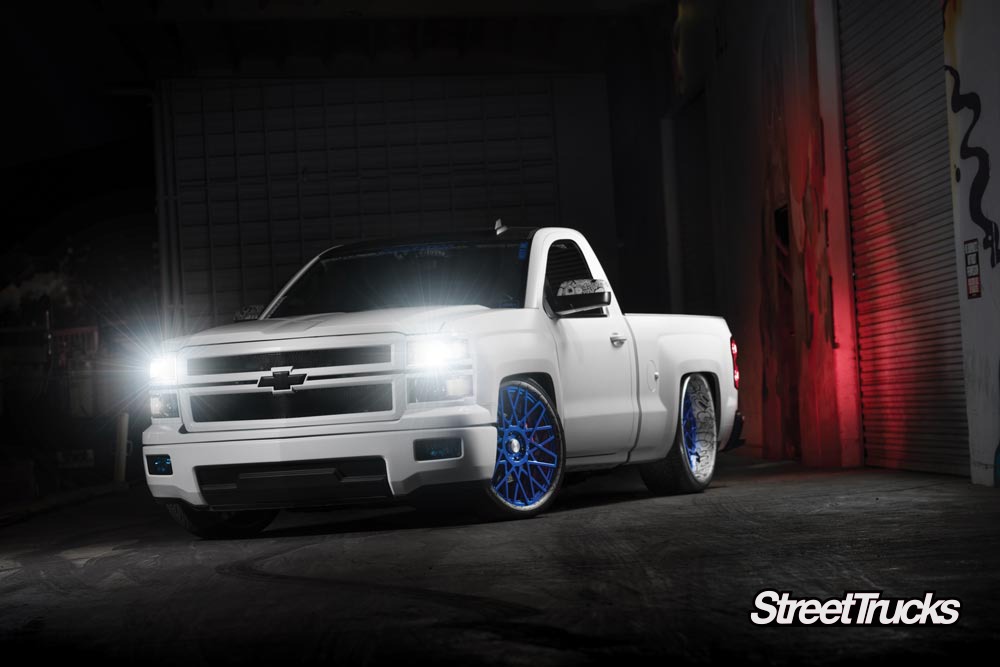 White 2015 Chevy Silverado