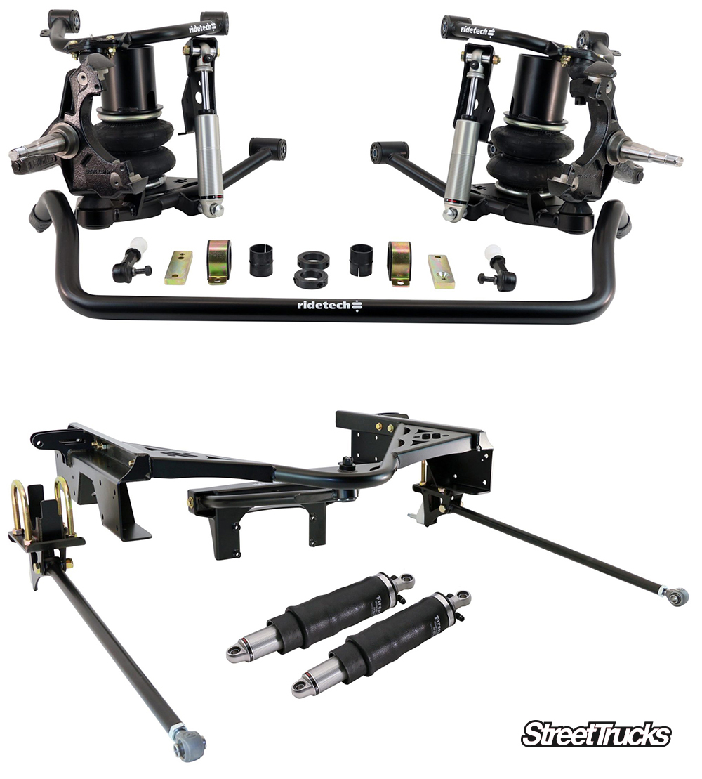 Ridetech air suspension system