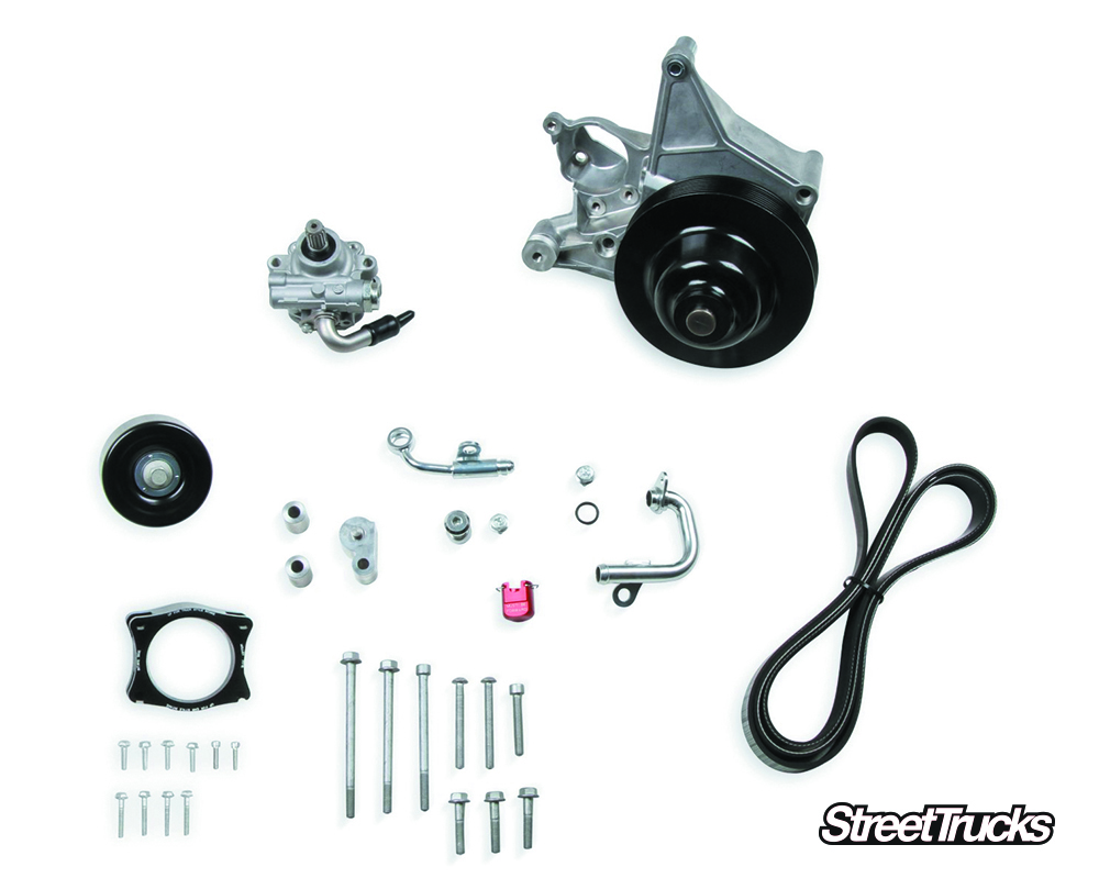 Parts Counter Retro-Fit Power Steering