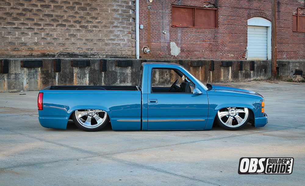 Blue 1990Chevrolet OBS