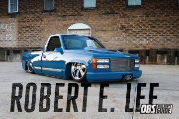 Custom blue 1990Chevrolet C1500